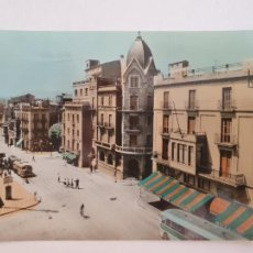 Postales: MANRESA - PLAZA SANTO DOMINGO Y AVENIDA DEL CAUDILLO - LAXC - P52029. Lote 269144108