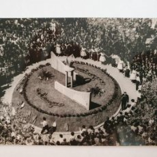 Postales: MANRESA - MONUMENT A LA SARDANA - PLAÇA COTS 1963 - LAXC - P52030. Lote 269144453