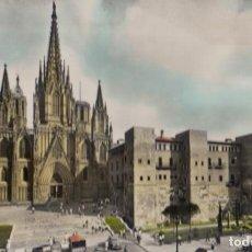 Postales: (2389) POSTAL BARCELONA - CATEDRAL (ANIMADA) - ZERKOWITZ - CIRCULADA. Lote 269453233