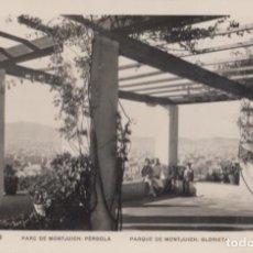 Postales: (2392) POSTAL BARCELONA - PARQUE DE MONTJUICH: GLORIETA - ZERKOWITZ - CIRCULADA. Lote 269453943