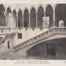 Postales: (2393) POSTAL BARCELONA - PALACIO DE LA GENERALIDAD: PATIO GÓTICO - ZERKOWITZ - S/CIRCULAR. Lote 269454223