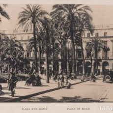 Postales: (2395) POSTAL BARCELONA - PLAZA DE MACIÁ (ANIMADA) - ZERKOWITZ - S/CIRCULAR. Lote 269454618