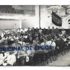 Postales: (PS-65732)POSTAL FOTOGRAFICA C.D.VALLS-COMIDA HERMANDAD.BANDERA FRANQUISTA. Lote 269455123