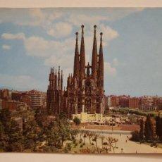 Postais: BARCELONA - TEMPLO / TEMPLE DE LA SAGRADA FAMILIA - P52296. Lote 269464098