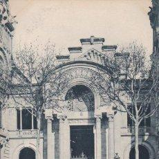 Postales: BARCELONA PUERTA PALACIO JUSTICI. ED. LB LUIS BARTRINA, FOTOTIPIA THOMAS Nº 193. REVERSO SIN DIVIDIR. Lote 269466403