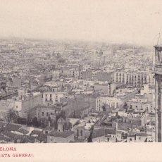 Postales: BARCELONA VISTA GENERAL. ED. LB. LUIS BARTRINA, FOTOTIPIA THOMAS Nº 169. REVERSO SIN DIVIDIR. Lote 269466658