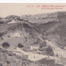Postales: BARCELONA VALLVIDRERA LINEA DEL FUNICULAR. ED. A.T.V. ANGEL TOLDRA VIAZO Nº 231. SIN CIRCULAR. Lote 269470883
