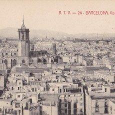 Postales: BARCELONA VISTA PARCIAL. ED. A.T.V. ANGEL TOLDRA VIAZO Nº 24. SIN CIRCULAR. Lote 269471648