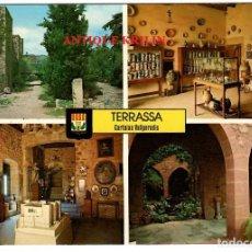 Postales: TERRASSA Nº 26 CASTELL , CARTOIXA DE VALLPARADIS / ESCUDO DE ORO. Lote 269683968