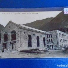 Postales: (PS-65766)POSTAL FOTOGRAFICA DE CAPDELLA-CENTRAL HIDROELECTRICA. Lote 269690668