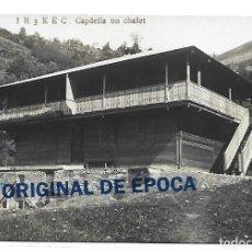 Postales: (PS-65767)POSTAL FOTOGRAFICA DE CAPDELLA-UN CHALET. Lote 269691138