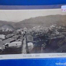 Postales: (PS-65773)POSTAL FOTOGRAFICA DE PUIGREIG-VISTA DESDE EL CASTELL. Lote 269692553