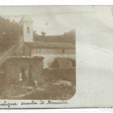 Postais: (PS-65791)POSTAL FOTOGRAFICA DE SANT HILARI SACALM-ANTIGUA ERMITA DE MONSOLIS. Lote 269716623