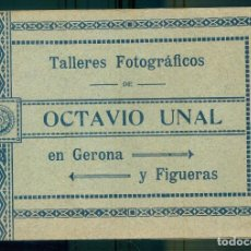 Postais: NUMULITE P0645 TALLERES FOTOGRÁFICOS DE OCTAVIO UNAL EN GERONA Y FIGUERAS FOLLETO PROMOCIONAL. Lote 269731048