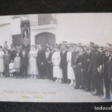 Postales: HOSTALETS DE PIEROLA-LA JUNTA-FOTOGRAFICA ROISIN-POSTAL ANTIGUA-(81.751). Lote 269736723