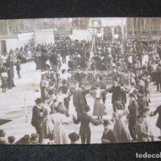 Postales: BARCELONA-FIESTA-SARDANAS-FOTOGRAFICA-FOTO L. DONOSO-POSTAL ANTIGUA-(81.752). Lote 269736968