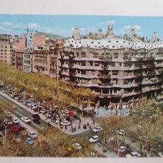 Postales: BARCELONA - PASSEIG DE GRÀCIA - PASEO DE GRACIA - CASA MILÀ - LAXC - P52813. Lote 269747453