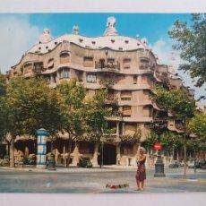 Postales: BARCELONA - PASSEIG DE GRÀCIA - PASEO DE GRACIA - CASA MILÀ - LAXC - P52814. Lote 269747468