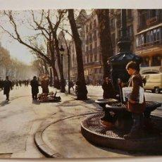 Cartes Postales: BARCELONA - LES RAMBLES / LAS RAMBLAS - FONT DE CANALETES - LAXC - P52834. Lote 269759068