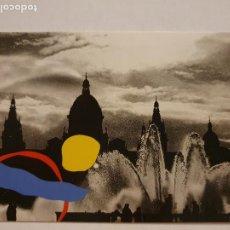 Cartes Postales: BARCELONA - PALAU NACIONAL - FOTO COLITA - XXI REUNIÓN NACIONAL DE CIRUGÍA PLÁSTICA - LAXC - P53115. Lote 269935133