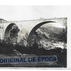Postales: (PS-65815)POSTAL FOTOGRAFICA DE MONISTROL DE MONTSERRAT-PUENTE CERCANO A LOS FERROCARRILES CATALANES. Lote 270192458