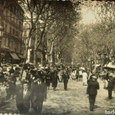 Postales: POSTAL RAMBLA DE BARCELONA. Lote 270359593