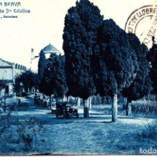 Postales: COSTA BRAVA (GERONA) - ERMITA Y HOTEL DE SANTA CRISTINA. Lote 270380523