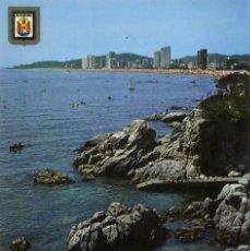 Postales: M04847 4688 PLATJA D' ARO VISTA GENERAL DE LA PLAYA 1968 ESCUDO DE ORO Nº79. Lote 270575288
