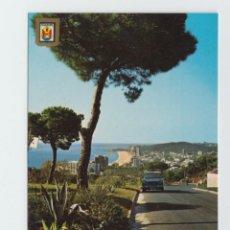Postales: M04854 3751 PLATJA D' ARO VISTA PARCIAL 1967 ESCUDO DE ORO Nº26 SEAT 1500. Lote 270575638