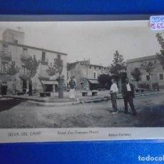 Postales: (PS-65816)POSTAL FOTOGRAFICA DE SELVA DE CAMP-PORTAL D´EN FRANCESC MACIA.EDICIO FORTUNY. Lote 270629543