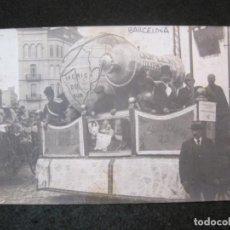 Postales: BARCELONA-CARROZA EN DESFILE-FOTOGRAFICA-POSTAL ANTIGUA-(81.895). Lote 270634078