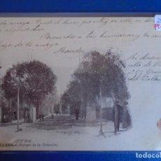 Postales: (PS-65871)POSTAL DE GRANOLLERS-PARQUE DE LA ESTACION. Lote 270861848