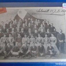 Postales: (PS-65891)POSTAL DE SABADELL-APLECH ESPERANTA GRUPO 1909. Lote 270901228
