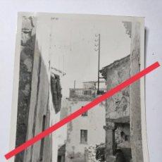 Postales: ANTIGUA FOTOGRAFÍA. TOSSA DE MAR. GIRONA. FOTOS AÑOS 50.. Lote 270980693