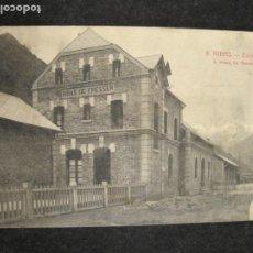 Postales: RIBAS-ESTACION DEL FERROCARRIL-ROISIN-9-POSTAL ANTIGUA-(81.952). Lote 271398898