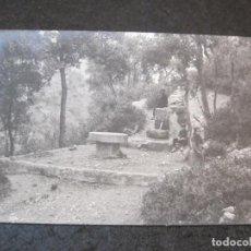 Postales: AIGUAFREDA-FONT DELS ENAMORATS-FOTOGRAFICA-POSTAL ANTIGUA-(81.958). Lote 271400338