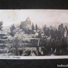 Postales: CANYAMAS-PARROQUIA-FOTOGRAFICA-POSTAL ANTIGUA-(81.959). Lote 271400543