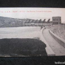 Postales: TREMP-SAN ANTONIO-CORONACION DE LA PRESA-THOMAS-14-POSTAL ANTIGUA-(81.962). Lote 271401888