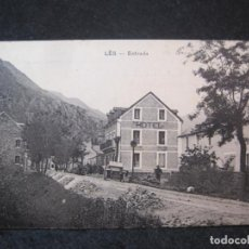 Postales: LES-ENTRADA-HOTEL-POSTAL ANTIGUA-(81.963). Lote 271402128