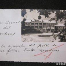 Postales: SANT BERNAT DEL MONTSENY-FOTOGRAFICA-POSTAL ANTIGUA-(81.966). Lote 271403473
