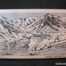 Postales: NURIA- BLOC CON 14 POSTALES ANTIGUAS-ROISIN-VER FOTOS-(81.974). Lote 271406783
