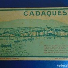 Postales: (PS-65952)BLOCK DE 20 POSTALES DE CADAQUES-FOTOGRAFO L.ROISIN. Lote 271819328