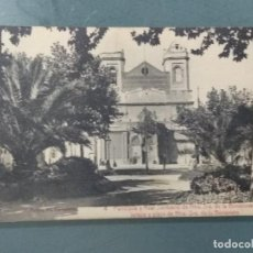 Postales: POSTAL BARCELONA - PARROQUIA Y REAL SANTUARIO DE NTRA. DE LA BONANOVA . PLAZA.. Lote 272289063