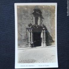 Postales: CALDAS DE MONTBUY, PORTADA DE L'ESGLÉSIA. Lote 272421598