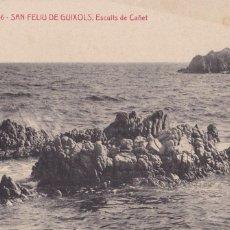 Cartoline: GIRONA SAN FELIU GUIXOLS PUNTA DEL CAÑET. ED. A.T.V. ANGEL TOLDRA VIAZO Nº 3023. ESCRITA. Lote 275136473