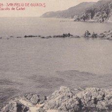 Cartoline: GIRONA SAN FELIU GUIXOLS ESCUITS DE CAÑET. ED. A.T.V. ANGEL TOLDRA VIAZO Nº 3025. SIN CIRCULAR. Lote 275137753