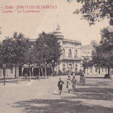 Cartoline: GIRONA SAN FELIU GUIXOLS CASINO CONSTANCIA. ED. A.T.V. ANGEL TOLDRA VIAZO Nº 3006. SIN CIRCULAR. Lote 275138678