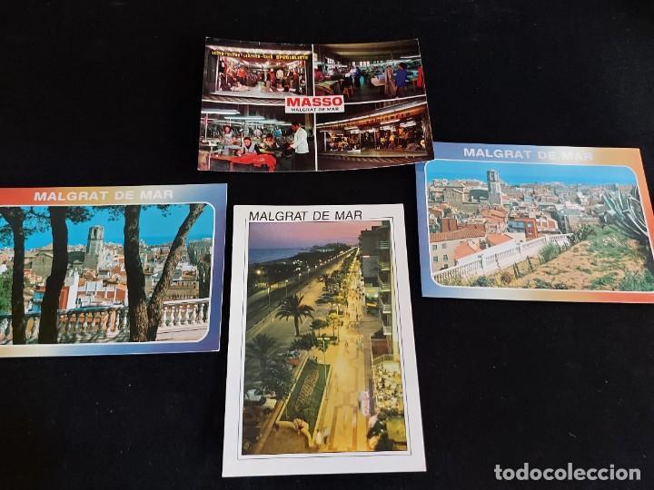 Postales: MALGRAT DE MAR / CONJUNTO DE 22 POSTALES DESDE LOS AÑOS 60 / BUENA CALIDAD / VER FOTOS. - Foto 5 - 275237523
