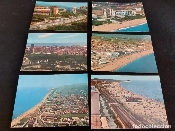 Postales: MALGRAT DE MAR / CONJUNTO DE 22 POSTALES DESDE LOS AÑOS 60 / BUENA CALIDAD / VER FOTOS. - Foto 4 - 275237523