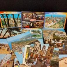 Postales: MALGRAT DE MAR / CONJUNTO DE 22 POSTALES DESDE LOS AÑOS 60' / BUENA CALIDAD / VER FOTOS.. Lote 275237523